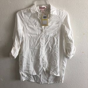 NWT Band of Gypsies button down shirt size M